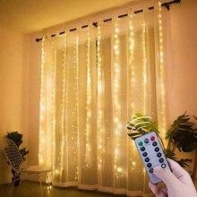 3m 100/200/300 led cortina string luz flash fadas guirlanda 2020 decorações de natal para casa ornamento 2021 feliz ano novo