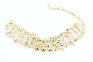 Image 5 - 2020 nowy projekt Dubai złoty kolor moda akcesoria ślubne kostium naszyjnik zestaw biżuteria do strojów afrykańskich zestawy