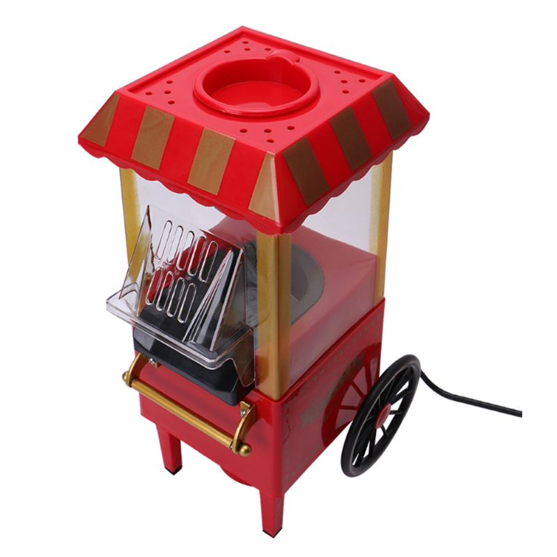 220V Useful Vintage Retro Electric Popcorn Popper Machine Home Party Tool, Eu Plug