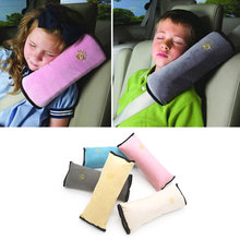 Pillow Cushions Shoulder-Strap Car-Safety-Seat-Belt Universal Child Head-Supports Pad