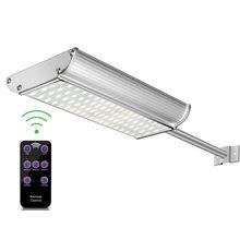 70Led Radar Sensor Solar Street Light Outdoor Commercial Lamp Waterproof 1100LM Remote Controlled Garden Security Lamp 3000mAh
