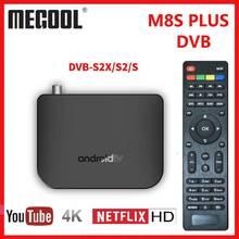 M8S PLUS DVB Smart 4K Android TV Box DVB