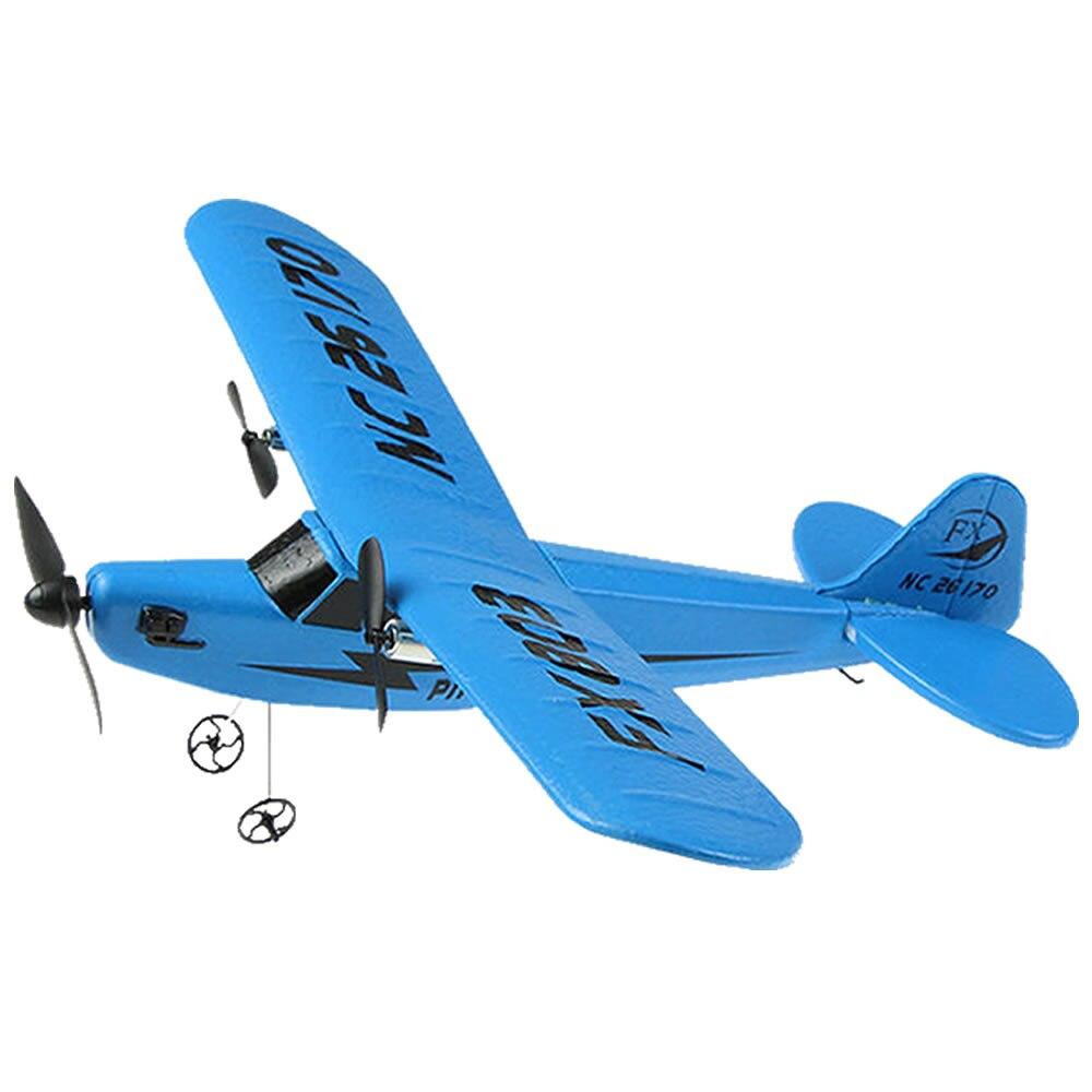 RC avion électrique télécommande avion RTF Kit EPP mousse 2.4G contrôleur 150 mètres vol Distance avion Global jouet chaud 4