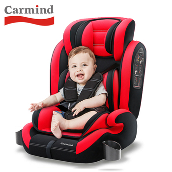 Carmind child car seat 9 months-12 years old car baby seat baby seat free shipping newborn baby safe car seats car general 0 12 years old child baby isofix hard interface can lie car seat