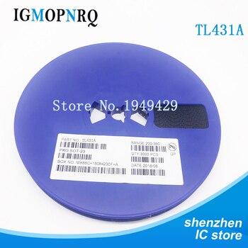 цена на 3000pcs TL431A TL431 SOT-23 431 SOT SMD voltage transistor