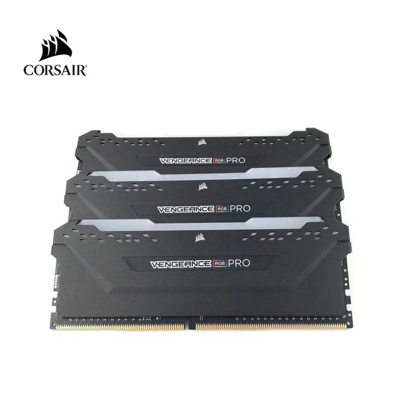 CORSAIR DDR4 RAM RGB PRO 8GB 16GB 3000MHz 3200MHz  PC4 DIMM Desktop Memory 2