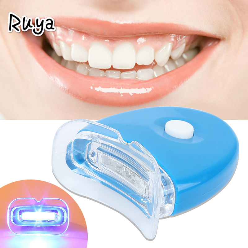 LED Light Teeth Whitening Tooth Gel Whitener Health Oral Care For Personal clareador blanqueador Dental Treatment odontologia(China)