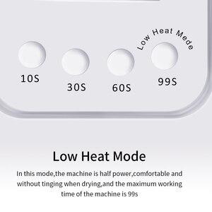 Image 4 - 72/36/6W Mặt Trời X5 Plus Máy Sấy Móng Tay Màn Hình Hiển Thị LCD 36 Đèn LED Móng Tay Đèn UV LED việc Chữa Gel Ba Lan Tự Động Cảm Ứng Không Đáy