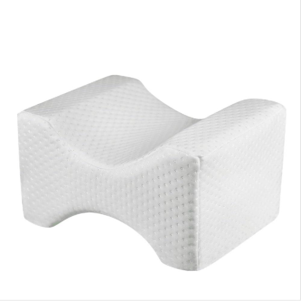 Fdrirect Knee Pillow Clip Leg Memory Foam Wedge Slow Rebound Memory Cotton Clamp Massage Pillow For Pregnant Women Toiletry Kits