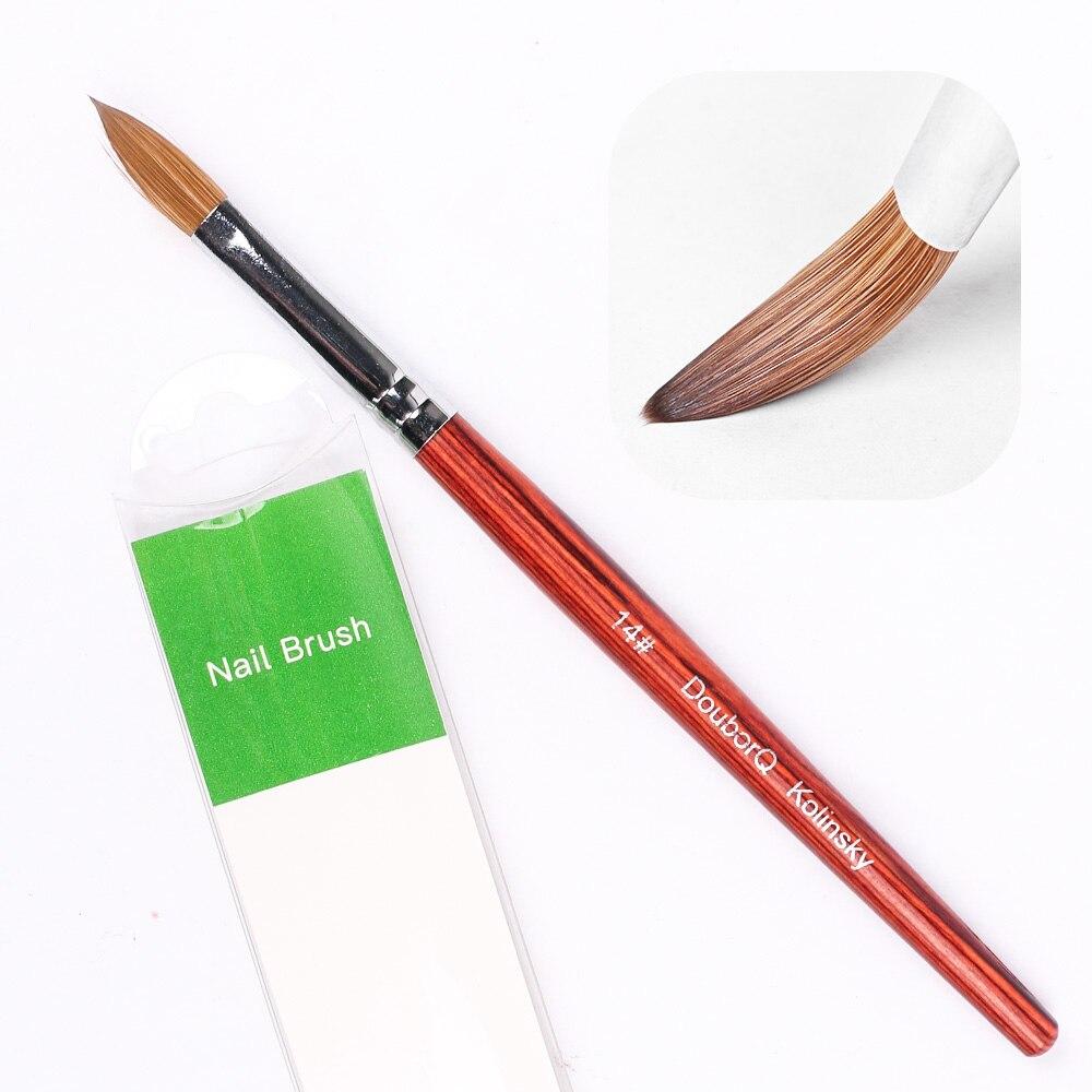caneta de cristal puro kolinsky cabelo acrílico