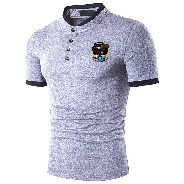 3D printed Men's Polo Shirt Cotton Short Sleeve