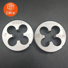 Right-Handed-Thread Die Manual-Tool-Set Round-Plate