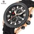 RUIMAS Топ люксовый бренд мужские военные водонепроницаемые спортивные часы модные повседневные кварцевые часы с хронографом мужские наручн...