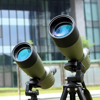 SVBONY 20-60 #215 60 25-75x70mm luneta SV14 teleskop z powiększeniem BAK4 Prism wodoodporna polowanie monokularowy + telefon Adapter F9310 do polowania strzelania łucznictwa obserwowania ptaków tanie i dobre opinie SV14 Spotting Scope 20x-60X 25X-75X 60mm 70mm 45 Degree Angled Spotting Scopes 15mm Porro 86-43 ft 1000 YDS 64-43 f Fold Down
