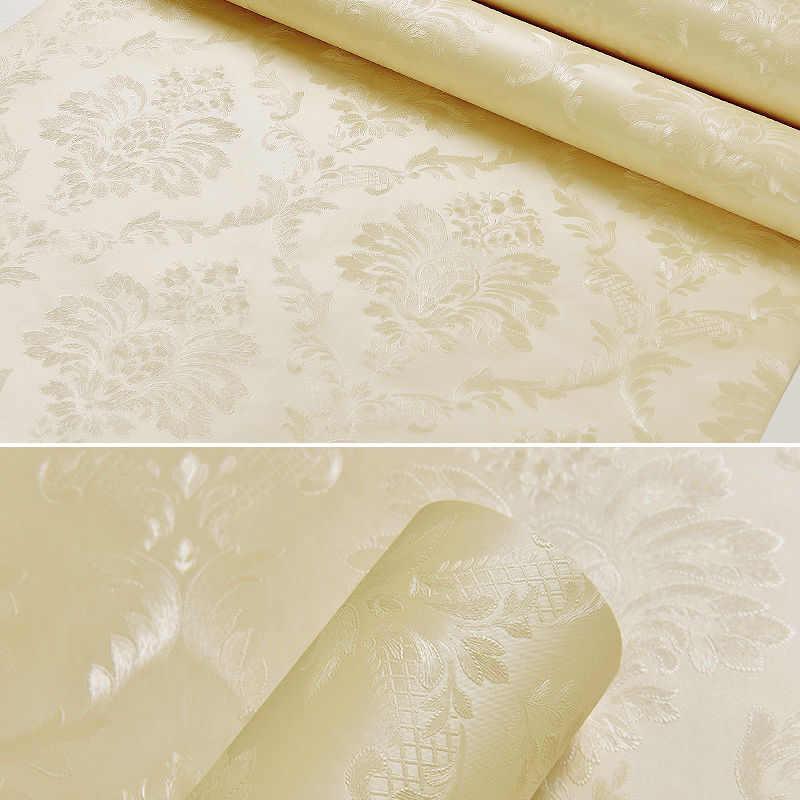 5M impermeable 3D Damasco papel tapiz decoración baño Baño Sala decoración hogar calcomanía Fondo PVC pegatinas pared