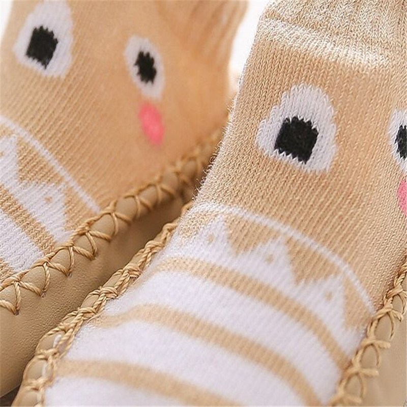 2020 New born Baby Socks With Rubber Soles Infant Baby Girls Boys Shoes Spring Autumn Baby Floor Socks Anti Slip Soft Sole Sock 5