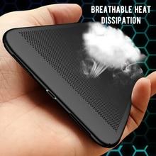 Case For Xiaomi Redmi K20 Note 7 6 Pro 6A 7A 6 Pro Cover Mi 9T Pro 9 Mi A3 Lite Slim Heat Dissipation Cooling Hard PC Case Shell