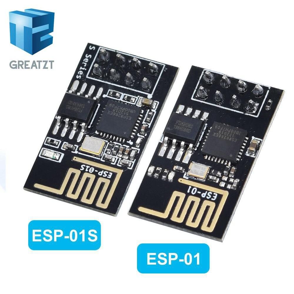1 шт. градуированная версия ESP 01 ESP8266 последовательный WI FI беспроводной модуль беспроводной приемопередатчик|wireless module|wifi moduletransceiver module | АлиЭкспресс