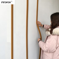 wood line Chinese strip picture frame frame partition edge strip wall line top corner line decorative strip 3D wall stickers