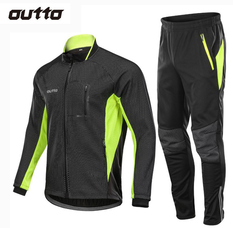Зимняя Теплая Флисовая Куртка для верховой езды и штаны, ветрозащитная теплая спортивная одежда для улицы, водонепроницаемая Мужская одежда для гонок, велосипедов, пеших прогулок, велосипедных комплектов|Велосипедные комплекты|   | АлиЭкспресс