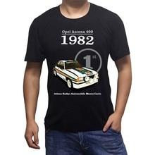 OPEL ASCONA 1982 T SHIRT CLASSIC CAR RALLY TRACK BIRTHDAY PRESENT GIFT 1980S sbz1306