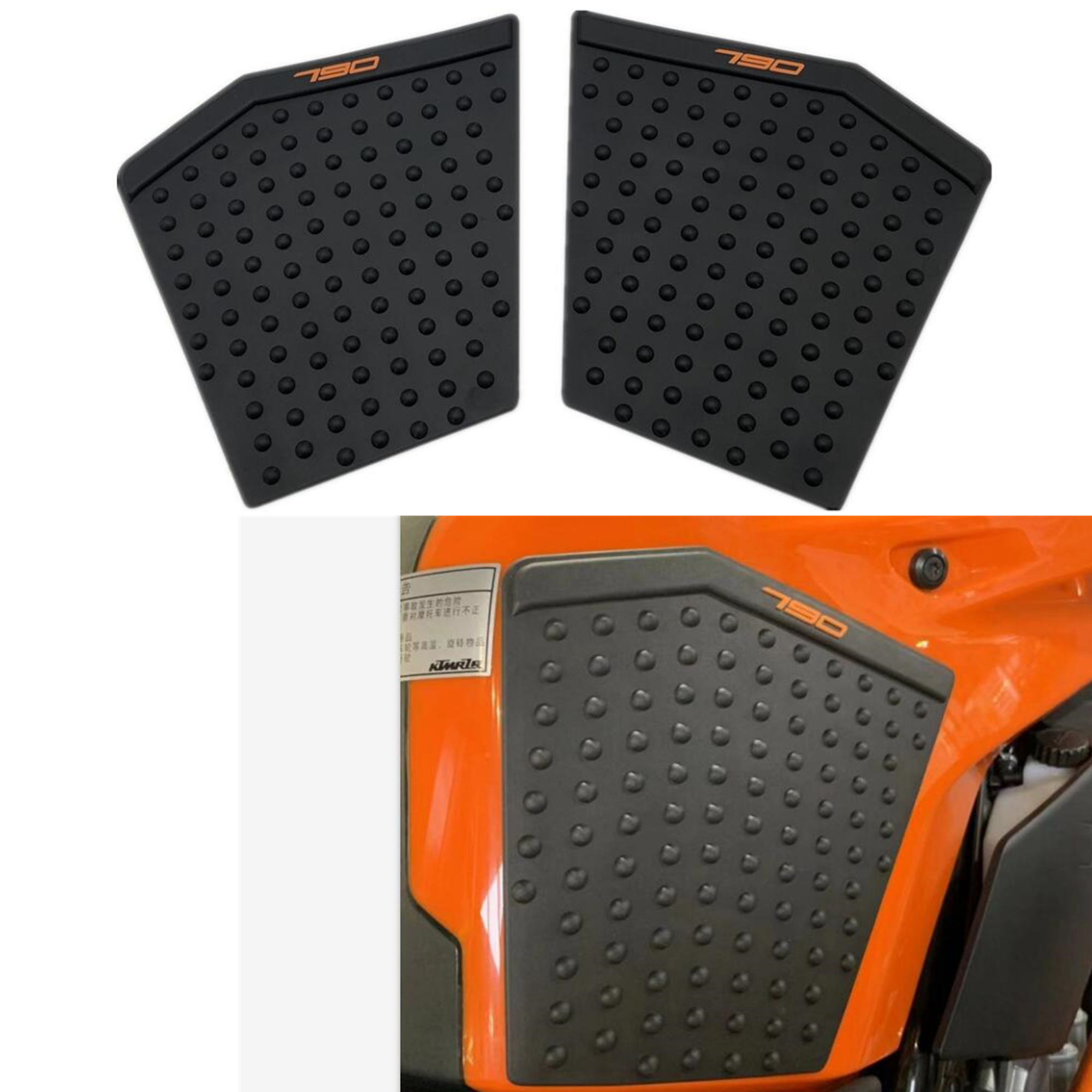 Motorcycle Tank Pad <font><b>Sticker</b></font> For KTM790 KTM <font><b>DUKE</b></font> 790 2018 2019 Tank Side Gas Knee Grips Protector Decal Antiskid Rubber <font><b>Stickers</b></font> image