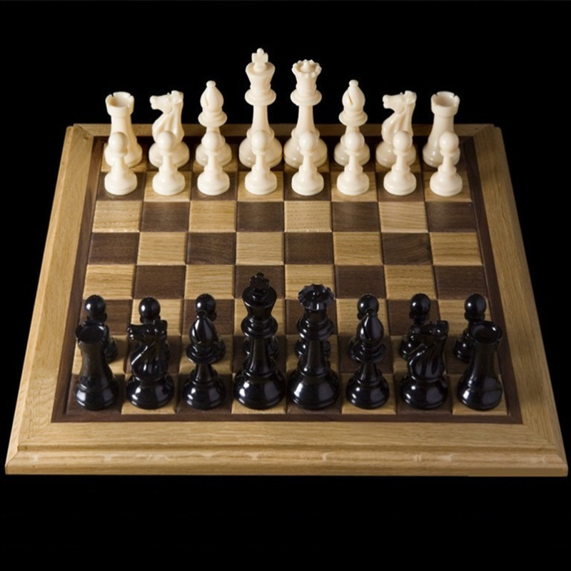 32Pcs/Set Medieval Chess Pieces/Plastic Complete Chess With …