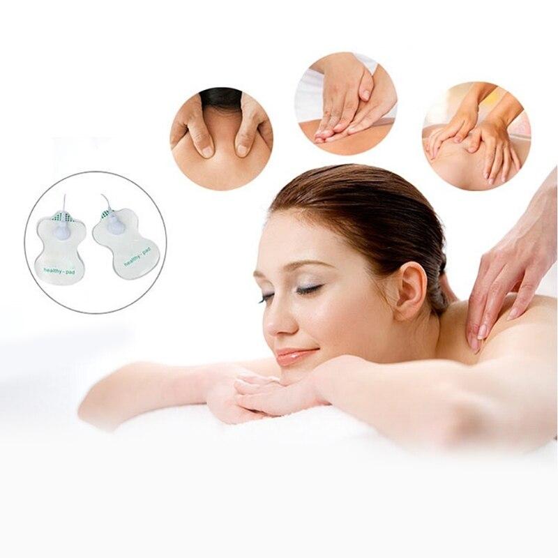 10 stücke Elektrode Pads Für Zehn Digitale Therapie Maschine Massager Akupunktur Weiß