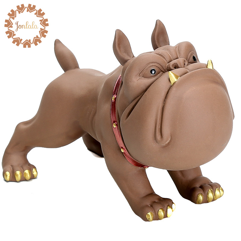 Cute American Bully Dog Funny Cartoon Dog Creative Crafts Ornaments Decor Minimalist Modern Soft Home Furnishings, Best Gift image