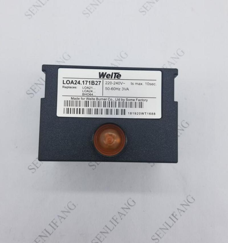 Original programmable controller LOA24.171B27 mechanical type front inspection for diesel burner can replace LOA24 series
