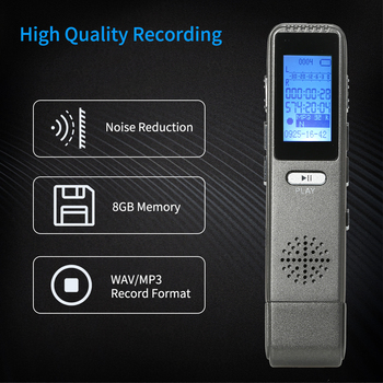 8GB  Voice Activated Recorder  3