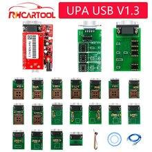 OBD2 voiture outil UPA USB V1.3 unité principale ECU puce Tunning UPA-USB avec 1.3 eeprom adaptateur ECU programmeur ajouté MC9S12HY64/HA32