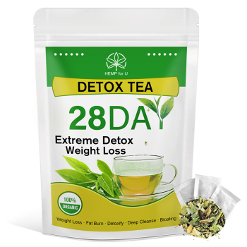 HFU Slimming Tea Detox Product Speed Weight Loss Fat Burns Oil Scraping Reduce Fat Cleans Intestine Reduce Bloating Constipation 1