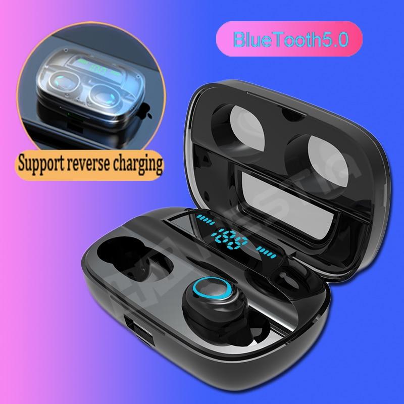 S11 Wireless Earphones TWS Bluetooth 5.0 LED Display 8D Bass Stereo Mini sport In-ear Earbuds Handsfree Hifi Headset Headphones