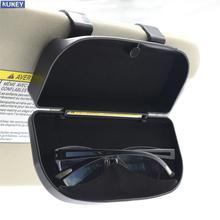 Magnetische Auto Visier Glas Fall Karte Ticket Organizer Box Sonnenschutz Auto Zubehör Clip Montieren Lagerung Halter Innen Decor Frauen
