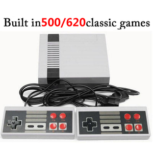 500/620 Classic Games Mini 8 Bit Built-In Retro Handheld Game Player AV Port TV Game Console Kids Stay Home Video Gaming Console(China)