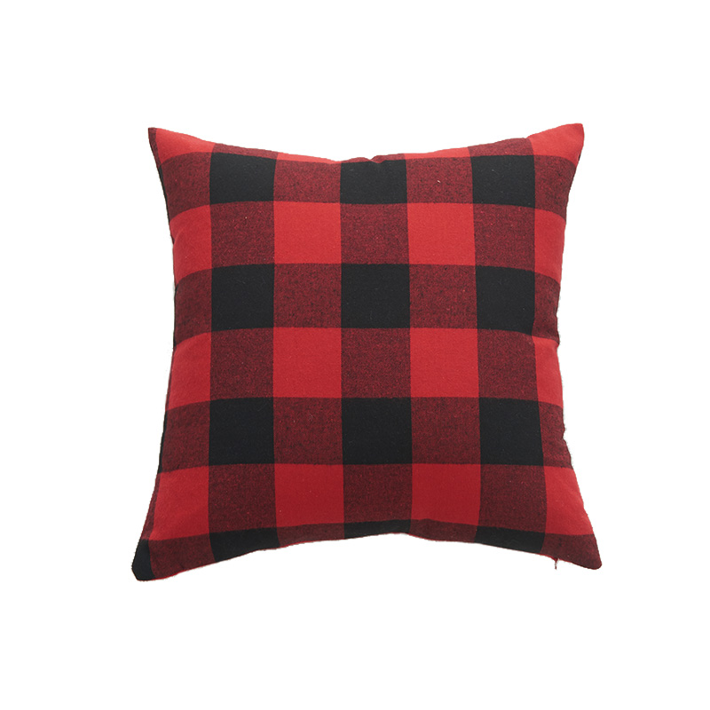 Nordic new home dec sofa cushion cover 30*50 40*40 45*45 50*50 60*60 striped plaid no inner square red pillow covers X104