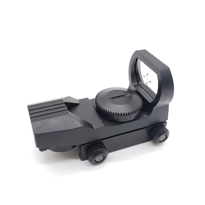 20mm Schiene Zielfernrohr Jagd Optik Holographische Grün Dot Sight Reflex Absehen Tactical Scope Kollimator Anblick Kunststoff Spielzeug