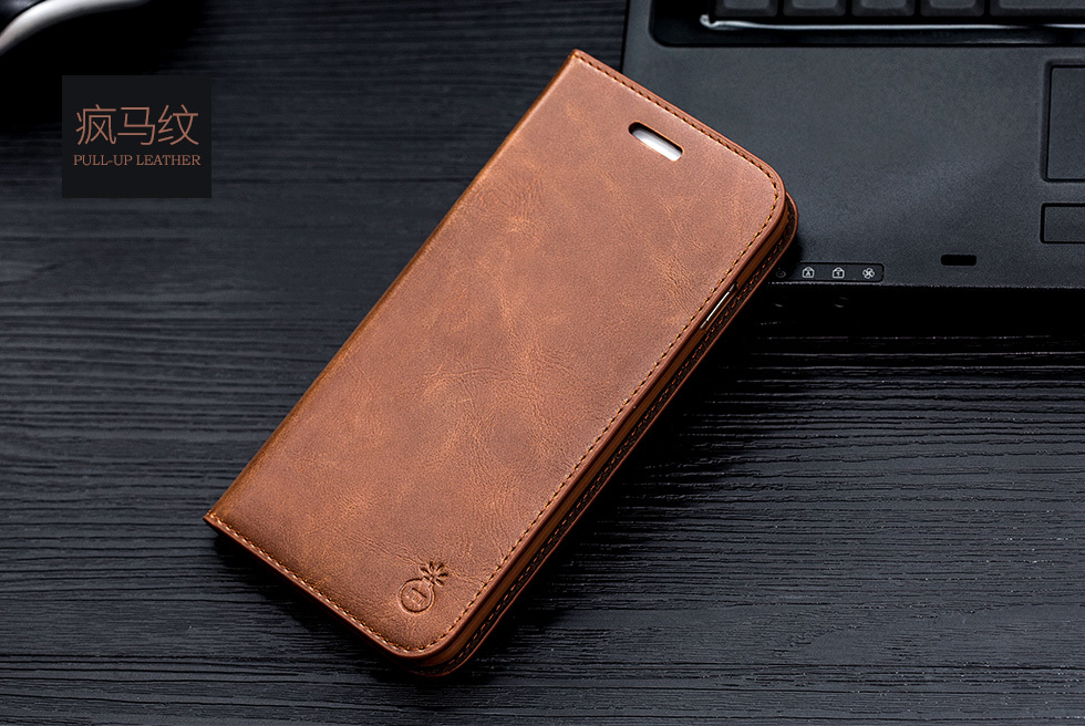 Genuine Leather Case for iPhone SE (2020) 65
