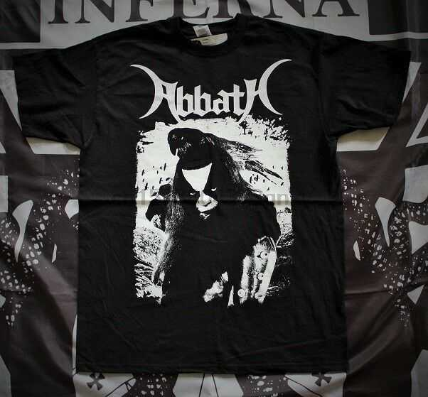 Abbath-레이븐 티셔츠 L 불멸의 1Burzum Mayhem 황제 Gorgoroth Taake 티셔츠 남성 오크 티셔츠