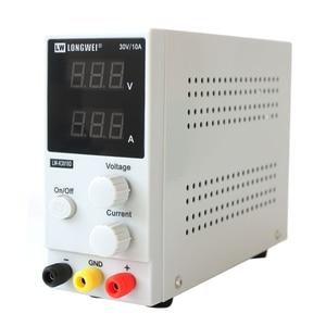 Image 2 - New 30V 10A LED Display Adjustable Switching Regulator DC Power Supply LW K3010D Laptop Repair Rework 110v   220v