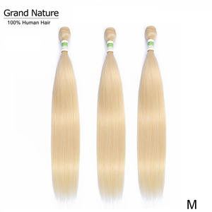 Hair-Weave-Bundles Human-Hair Blonde 613 Straight Can-Buy 4pcs 3or Remy Middle-Ratio