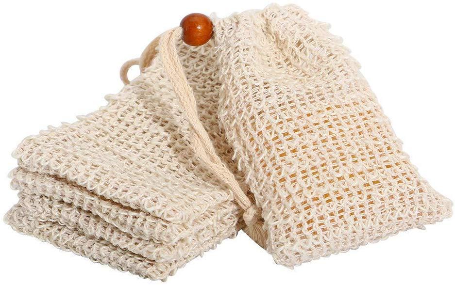 12 упаковок, сумка для жидкого сизаля, отшелушивающая сумка для продления срока службы мыла