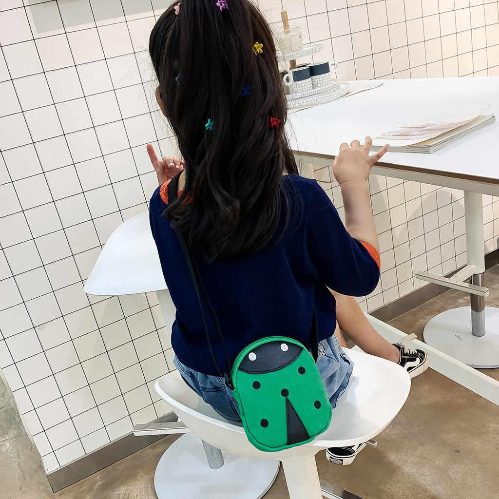 Maison fabre saco carteira das crianças simples mini bolsa de ombro mensageiro saco zíper backpage moeda bolsa para criança