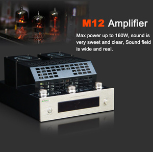 Image 5 - M12 HI FI Bluetooth Vacuum Tube Stereo Amplifier support USB audio power amplifier BASS hifi output 2 support 220V or 110V