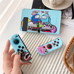 Funny Cartoon Among US Case For Nintendo Nintend Switch NS NX Cases Silicone Back Cover For Switch Lite Case Split Cute Funda