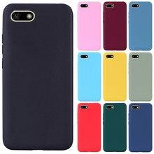 Y5 2018 silicone caso para huawei y5 lite DRA-LX2 DRA-L21 tpu macio telefone caso para huawei y5 prime 2018/y5 lite 2018 DRA-LX5 caso
