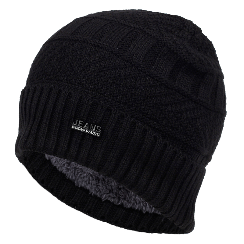 2019 New Fashion Wool Hat Autumn And Winter Plus Velvet Thick Warm Hats Hip Hop Outdoor Wild Cap Old Man Cold Caps