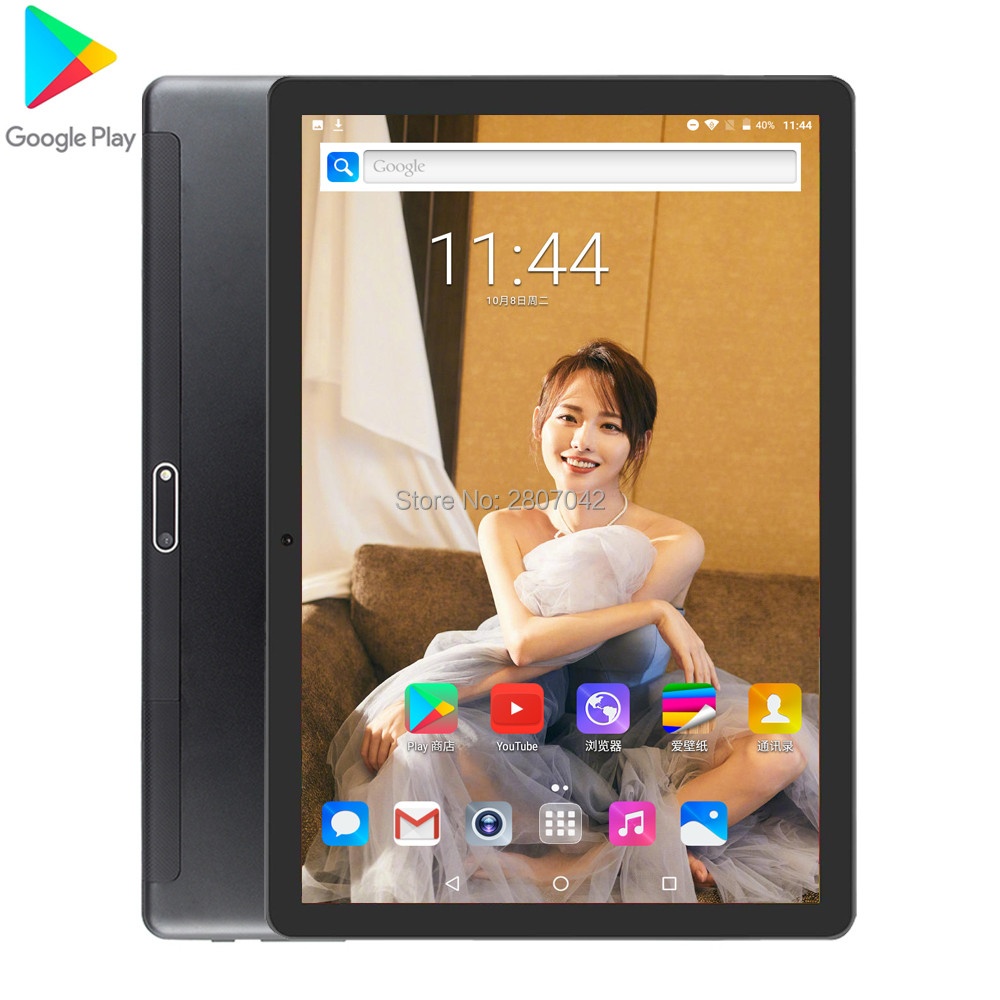 2020 Newest 10inch Tablets PC 3G Wifi 2.5D Tempered Glass 3000mAh Android 7.0 OS GPS 32GB ROM IPS Quad Core Tablet 10.1