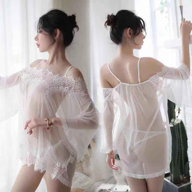 Transparent Sexy Lingerie Porno Women Slutty Dress Erotic Baby Doll Costumes Nighty For Sex